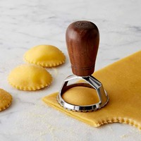 Williams-Sonoma Ravioli Stamp with Walnut Handle