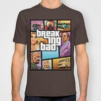 Breaking Bad: GTA T-shirt by Messypandas