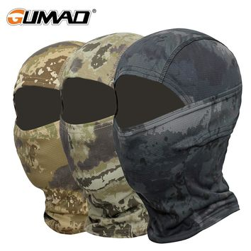 Camouflage Balaclava Full Face Mask Bicycle Hunting Cycling Army Sport Bike Military Helmet Liner Tactical Paintball Ninja Cap