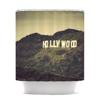 "Catherine McDonald ""Hollywood"" Shower Curtain"