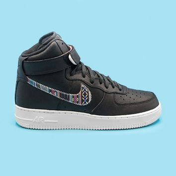 qiyif NIKE - Men - Air Force 1 High - Black/White