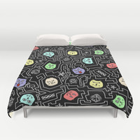 cats Duvet Cover by ユミタロ