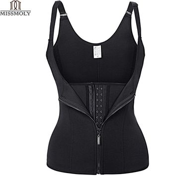 Hot Shapers Neoprene Sauna Sweat Vest Waist Trainer Cincher Women Body Slimming Trimmer Corset Workout Thermo Push Up Trainer