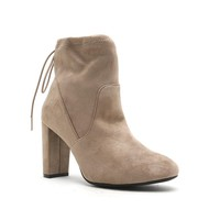 High Rise Ankle Bootie (YORK-03X Taupe)