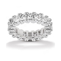 11.05 carat Diamonds eternity wedding band F VS1 diamonds