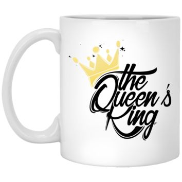 The Queen's King Kool Customs  oz. White Mug