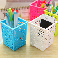 Stylish Multifunction Creative Fashion Home Storage Korean Plastic Hollow Out Box = 4877832644