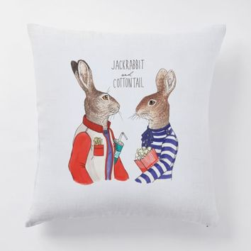 Dapper Animal Pillow Covers - Spring
