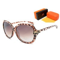 Perfect Hermes Women Casual Popular Summer Sun Shades Eyeglasses Glasses Sunglasses
