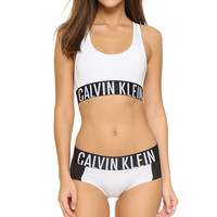 Calvin Klein Fashion Low-Cut Sport Gym Underwear Lingerie Set