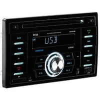 BOSS AUDIO 824UAB Double-DIN CD/MP3 Player Receiver, Bluetooth, Wireless Remote