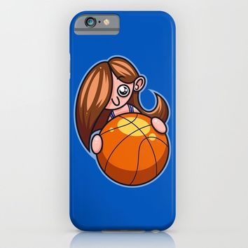Basketball Player iPhone & iPod Case by Artistic Dyslexia