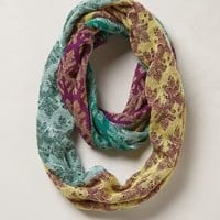 Pastel Patch Infinity Scarf by Anthropologie Multi One Size Scarves