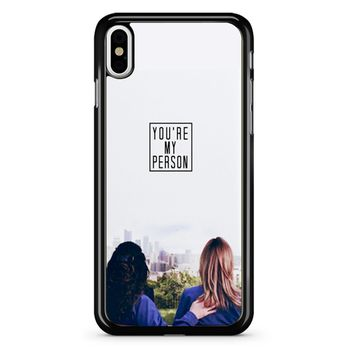 Twisted Sisters iPhone X Case
