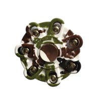 Camouflage Hand Spinner Seven Flap Hand Spinner