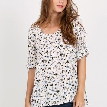 Laguna Coast Floral Top
