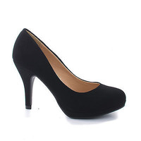 Jack Black By City Classified, Round Toe Extra Cushioned Comfort Classic Dress Work Pumps