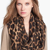 MICHAEL Michael Kors 'Rochelle' Animal Print Infinity Scarf | Nordstrom