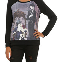 Black Butler Sebastian & Ciel Girls Pullover Top