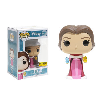Funko Disney Beauty And The Beast Pop! Belle Vinyl Figure Hot Topic Exclusive