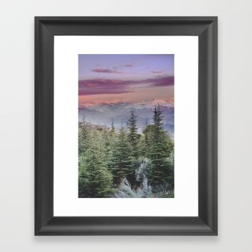 """Wildderness III"". Adventure at the mountains... Framed Art Print by Guido Montañés"
