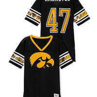 University of Iowa Mesh Bling Boyfriend Jersey