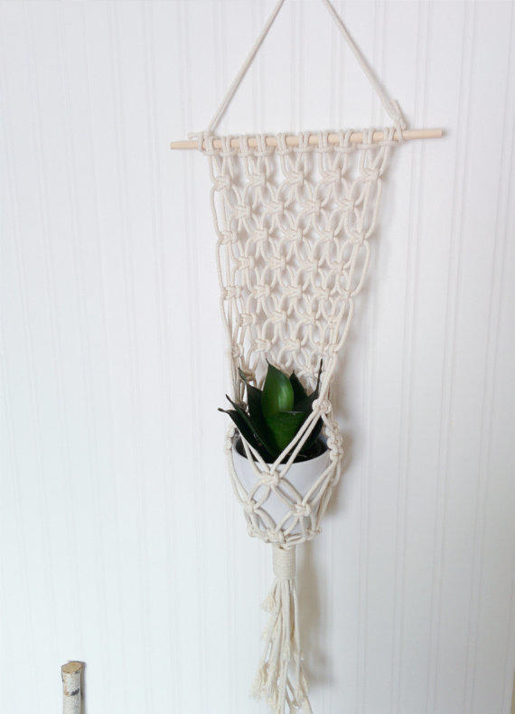 Macrame Plant Hanger From Freefille On Etsy Things I Want As