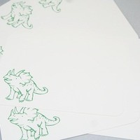 All Occasion and Thank You Dinosaur Stionery Quick Note Card Set