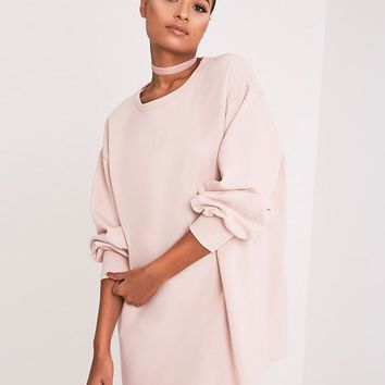 Prettylittlething Oversized Sweater Dress