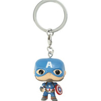 Funko Marvel Avengers: Age Of Ultron Pocket Pop! Captain America Key Chain