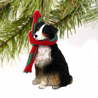 Australian Shepherd Tiny One Christmas Ornament Tricolor