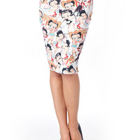 Darling Betty Boop Skirt