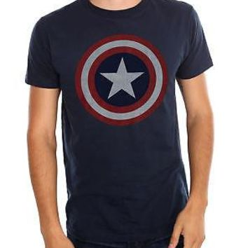 Hot Topic - Marvel Universe Captain America Shield T-Shirt - 2XL