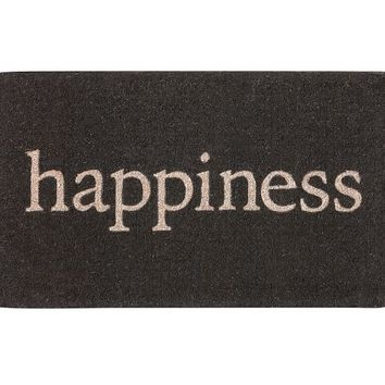 HAPPINESS DOORMAT