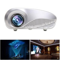 New Mini Home Multimedia Cinema LED HD Projector Support AV TV VGA USB HDMI SD 1080P