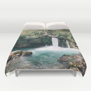 Chasing Waterfalls Duvet Cover by Gallery One