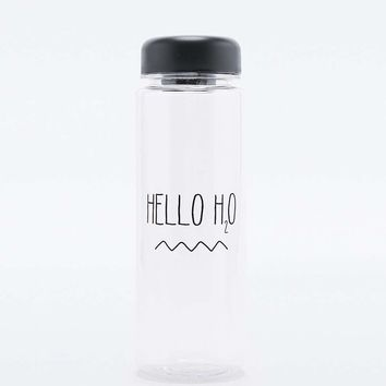 Hello H2O Water Bottle - Urban Outfitters