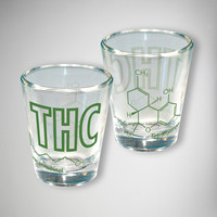 THC Compound 2 oz. Shot Glass