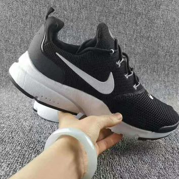 NIKE V3 Casual Sports Shoes running shoes Sneakers Black-white soles (white hook) H-CS