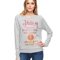 Graphic Glamour-Soft Pullover by Juicy Couture