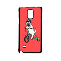 Pug Bicycle For Samsung Galaxy Note 2/Note 3/Note 4/Note 5/Note Edge Phone case ZG