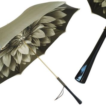 Pasotti Green Dahlia Umbrella