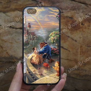 Beauty and the beast iphone case,phone case,galaxy S5 case,iPhone 5C 5/5S 4/4S,samsung galaxy S3/S4/S5,Personalized Phone case