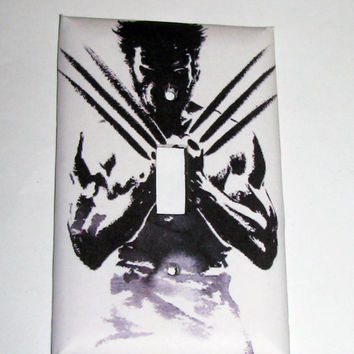 Light Switch Cover - Light Switch Plate Wolverine Movie Poster