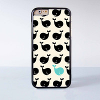 Cute little whale Plastic Case Cover for Apple iPhone 6 6 Plus 4 4s 5 5s 5c