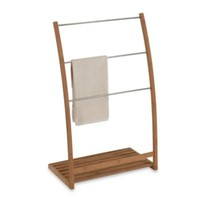 EcoStyles Bamboo Towel Stand