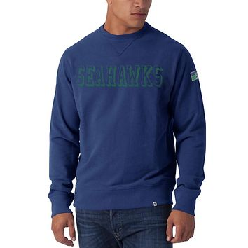 Seattle Seahawks - Bleacher Striker Premium Crew Neck Sweatshirt