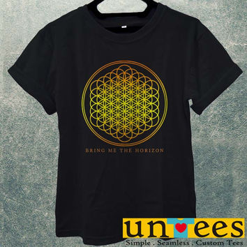 Low Price Men's Adult T-Shirt - BMTH logo Bring Me the Horizon design