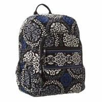 Vera Bradley Campus Backpack (Canterberry Cobalt)