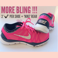 Crystal Nike Zoom Fit Agility Bling Shoes from SparkleNvie on 3a6a97f57